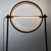 Lampada da terra / design originale / in ferro / in rame