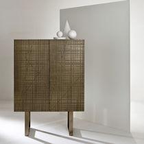 Credenza alta / moderna / in legno / in metallo