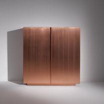 Credenza alta / moderna / in legno / in legno laccato