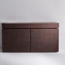Credenza moderna / in legno / in alluminio