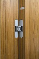 Porta da interni / battente / in legno / per hotel