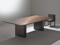 Tavolo moderno / in rame / rettangolare