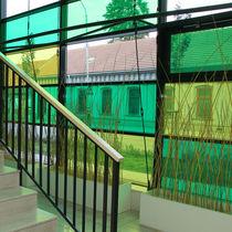 Pannello in vetro per edificio / di sicurezza / laminato / colorato