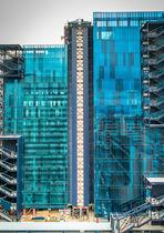 Pannello in vetro per edificio / laminato
