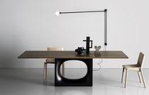 Tavolo moderno / in legno / in metallo / rettangolare