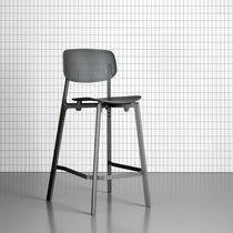 Sgabello da bar design minimalista / per ristorante / per uso contract / professionale