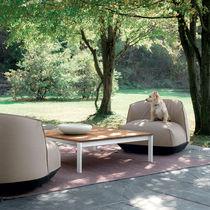 Pouf design originale / idrorepellente / in Sunbrella® / imbottito