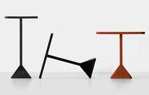 Tavolo moderno / in ferro / rettangolare / da esterno