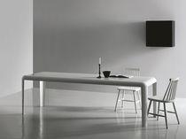 Tavolo moderno / in lastra / rettangolare / quadrato