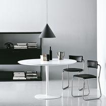 Tavolo moderno / in alluminio laccato / in alluminio / rotondo