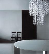 Lampadario design originale / in vetro / a incandescenza / di Piero Lissoni