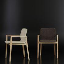 Sedia moderna / imbottita / con braccioli / ergonomica