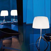 Lampada da tavolo / moderna / in alluminio / in vetro