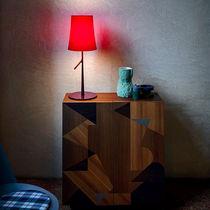 Lampada da tavolo / moderna / in acciaio / in policarbonato