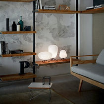 Lampada da tavolo / moderna / in metallo / in vetro