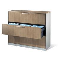 Armadio classificatore basso / in legno / in acciaio / con cassetti