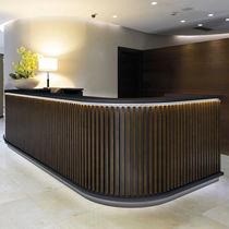 Banco reception in legno