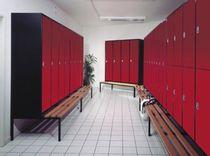 Armadietto spogliatoio in metallo / standard / per edifici pubblici / con sistema di sicurezza