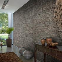 Rivestimento murale in fibra naturale / per uso residenziale / testurizzato / aspetto pietra