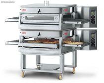 Forno a gas / professionale / a pizza / doppio