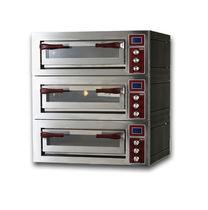 Forno professionale / elettrico / per pizza / a 3 camere