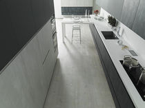 Piastrella flessibile da interno / da pavimento / in vinile / levigata
