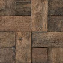 Mosaico da interno / da parete / in legno / 3D