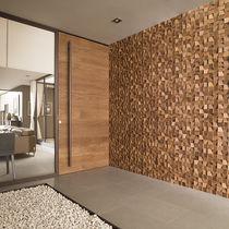 Mosaico da interno / da parete / in legno / testurizzato