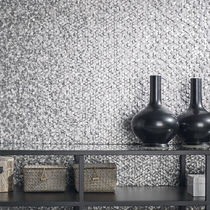 Mosaico da interno / da parete / in metallo / 3D