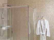 Mosaico da interno / da parete / in metallo / lucido