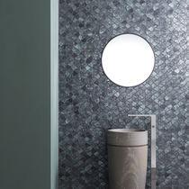 Mosaico da interno / da parete / in vetro / a motivi geometrici