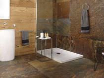 Piatto doccia rettangolare / in pietra naturale