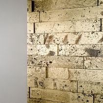 Lastra di paramento in pietra naturale / indoor / levigata