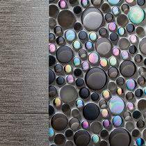 Mosaico da interno / da parete / in vetro / liscio