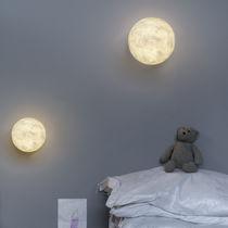 Applique moderna / in Nebulite® / LED / rotonda