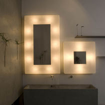 Applique moderna / in acciaio / in Nebulite® / LED