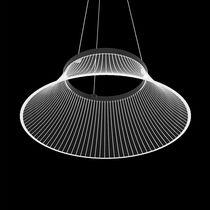 Lampada a sospensione / design originale / in alluminio verniciato / in metacrilato