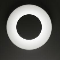 Applique moderna / in alluminio verniciato / LED / rotonda