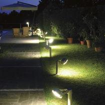 Lampioncino da giardino / moderno / in acciaio / LED