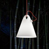Lampada a sospensione / design originale / in polietilene / da esterno
