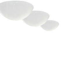 Plafoniera design originale / rotonda / in metacrilato / LED