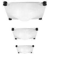 Plafoniera design originale / quadrata / in metacrilato / LED