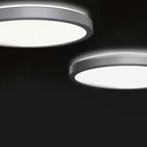 Plafoniera moderna / rotonda / in alluminio / LED