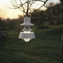 Lampada a sospensione / in stile industriale / in vetro / per esterni