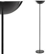 Lampada con piede / moderna / in acciaio / da interno