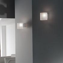 Applique design originale / in vetro / in vetro soffiato / LED
