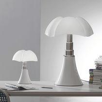 Lampada da tavolo / design originale / in acciaio inossidabile / in metacrilato