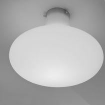Plafoniera moderna / rotonda / in polietilene / LED