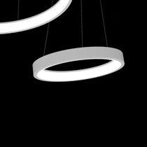 Lampada a sospensione / moderna / in alluminio / da interno