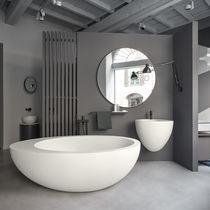 Vasca da bagno da appoggio / ovale / in LivingTec®